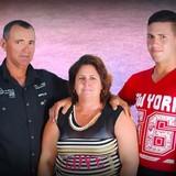 Familia anfitriona en Casilda, Trinidad, Cuba