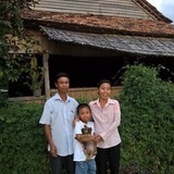 Gastfamilie in Village 2, Tân Phú, Vietnam