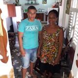 Famille d'accueil à el pueblo, Trinidad, Cuba