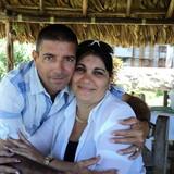 Famiglia a Boca de Camarioca, Varadero, Cuba