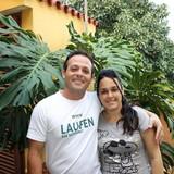 Família anfitriã em calle Cruz Verde, Trinidad, Cuba