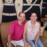 Familia anfitriona en Playa, La Habana, Cuba