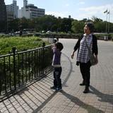 Famille d'accueil à Higashi-ku, Hiroshima, Japan