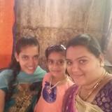 Familia anfitriona en heggarani, Hostot, India