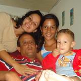 Famiglia a Reparto Vista Alegre, Santiago de Cuba, Cuba