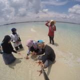 Gastfamilie in Beach, Tanjung Pandan, Indonesia
