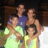 Familia anfitriona en Centro de Ciudad, Santiago de Cuba, Cuba