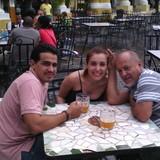 Familia anfitriona en Lawton, Diez de Octubre, Cuba