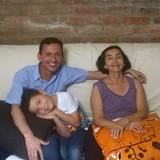 Familia anfitriona en Cielo Mar, Cartagena, Colombia