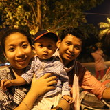 Familia anfitriona en siem reap, siem reap, Cambodia