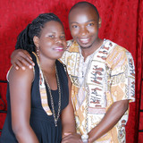 Família anfitriã em Busega, Bulenga, Uganda