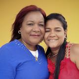 Famiglia a La Colchoneria, Viñales, Cuba