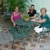 Famiglia a Centro Habana, Habana, Cuba