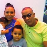 Familia anfitriona en Cayo Hueso, La Habana, Cuba
