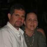 Familia anfitriona en Buen viaje, Santa Clara, Cuba