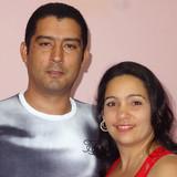 Familia anfitriona en La Punta, Baracoa, Cuba