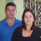 Família anfitriã em cerca del Hotel iberoestar Trinidad, Trinidad, Cuba