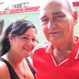 Famiglia a centro historico, Caibarién, Cuba