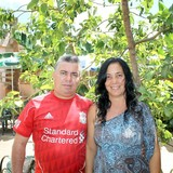 Família anfitriã em calle Concordia, Trinidad, Cuba