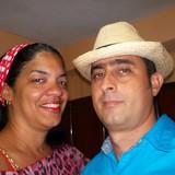 Famiglia a Centro de Ciudad, Santiago de Cuba, Cuba