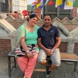Famille d'accueil à residence area, Kathmandu, Nepal