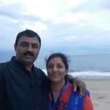 Família anfitriã em Meenangadi, Sulthan Bathery, Kolagapaara, India