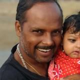 Familia anfitriona en Maranpur, Gaya, India