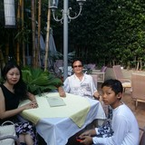 Família anfitriã em ho chi minh, Vietnam