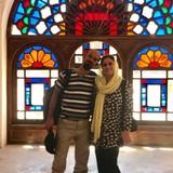 Família anfitriã em Isfahan, Iran