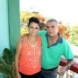 Família anfitriã em Playa La Boca, Trinidad, Cuba