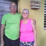 Familia anfitriona en Playa La Boca, Trinidad, Cuba