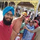 Família anfitriã em Dwarka, New Delhi, India