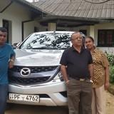 Sri LankaAruppola, Kandy的房主家庭
