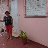 Famiglia a Santa Barbara, Santiago de cuba, Cuba