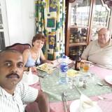 Sri LankaKandy的房主家庭
