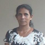 Famiglia a Mirrisa, Matara, Sri Lanka