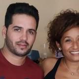 Família anfitriã em calle Desengaño, Trinidad, Cuba