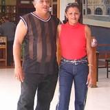 Familia anfitriona en Zamorana, Santiago de Cuba, Cuba