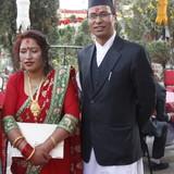 Familia anfitriona en Kirtipur, Kathmandu, Nepal