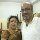 Famiglia a Shyam Bazar, Kolkata, India