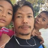 CambodiaKrong Siem Reap的房主家庭