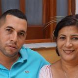 CubaLas Delicias , Viñales的房主家庭