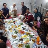 Família anfitriã em Taleghani, Isfahan, Iran