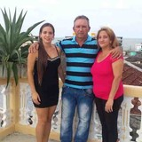 Família anfitriã em La Punta, Baracoa, Cuba