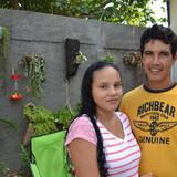 Gastfamilie in reparto Plaza , Trinidad , Cuba