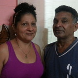 Familia anfitriona en Consejo Colon, Centro Habana , Cuba