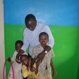 Família anfitriã em We are near Entebbe international airport. Sundiata beach, and Kavule beach, Lulongo, Uganda