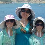 Famiglia a Kapparis, Paralimni, Cyprus