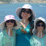 Familia anfitriona en Kapparis, Paralimni, Cyprus