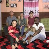 Familia anfitriona en Kuching , Kuching, Malaysia